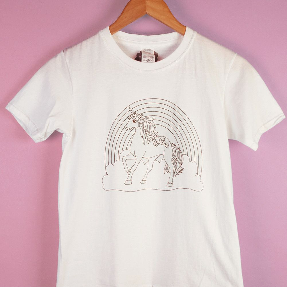 Rainbow Unicorn Mindfun T-Shirt