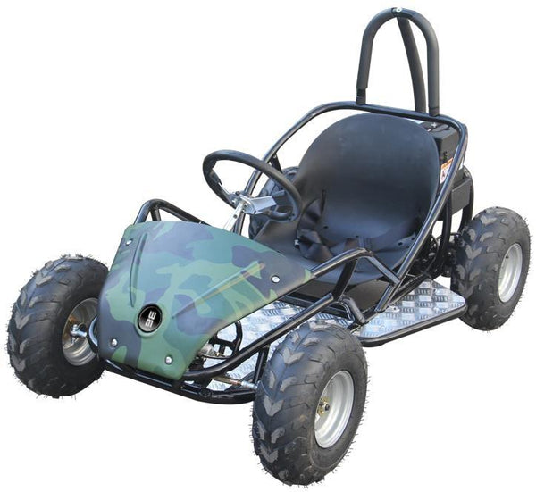 Heavy Duty Wheel Master 1000W Electric Go Kart! Awesome Summer Fun For The Whole Family! Kart