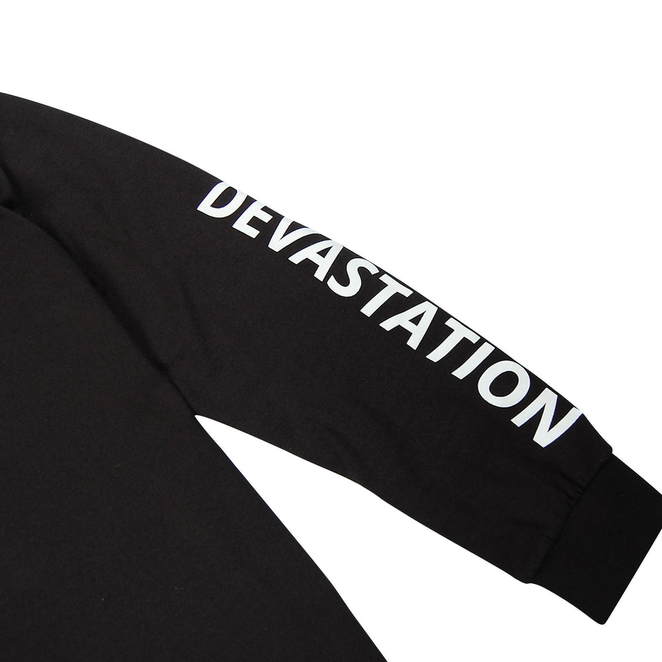 Devastation Logo T-Shirt Black