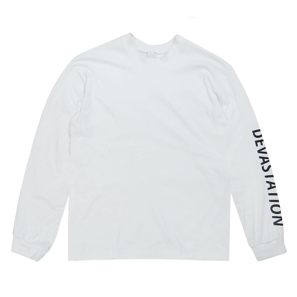 Devastation Logo T-Shirt White