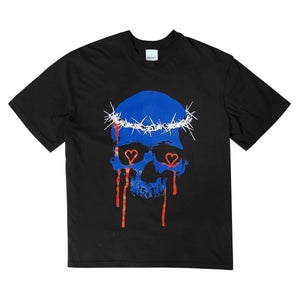 SKULL GRAFFITI T-SHIRT