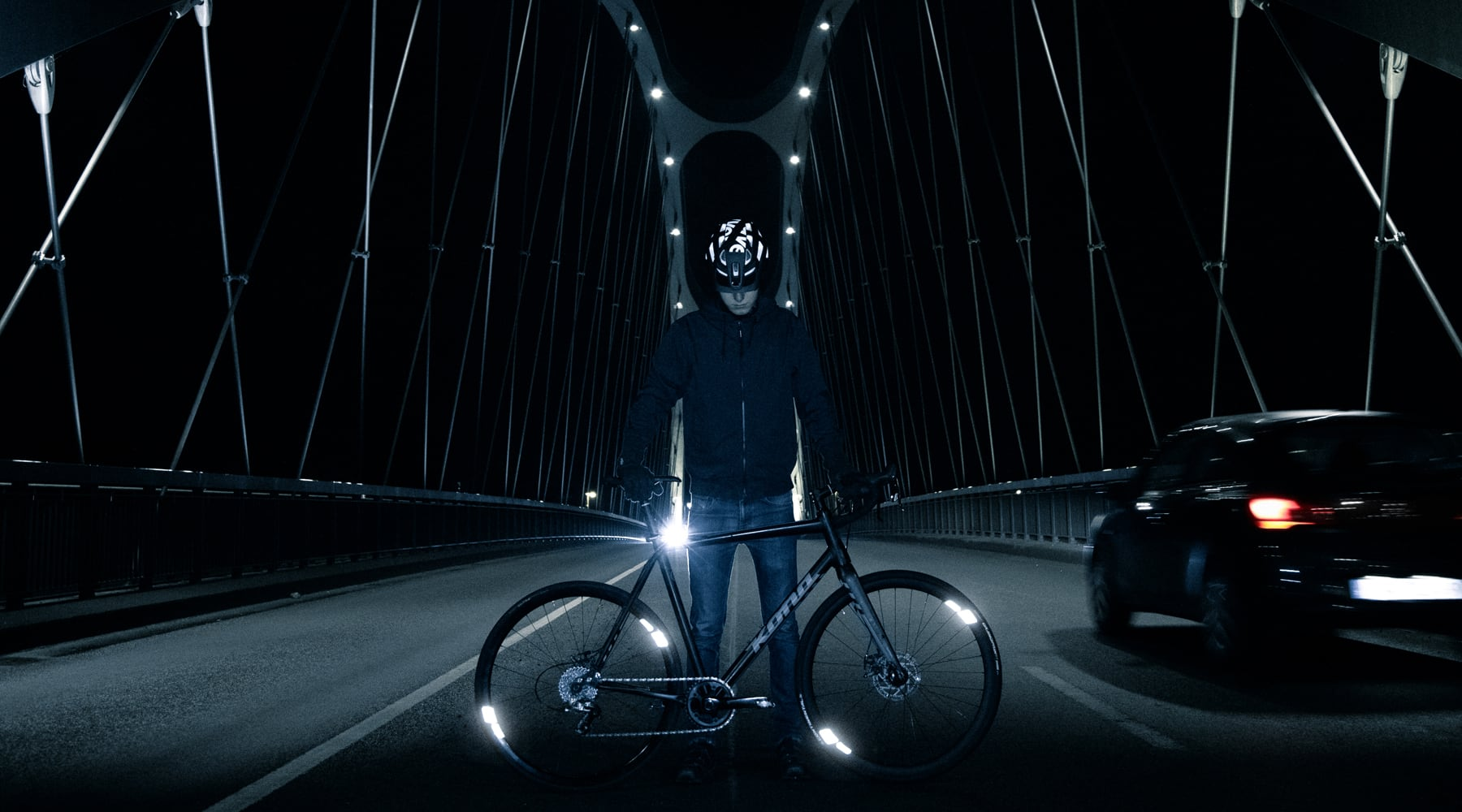 FLECTR 360 OMNI - The bicycle wheel reflector with 360 degree reflectivity – Edition 2020.