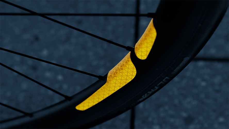 FLECTR 360 bicycle rim reflector