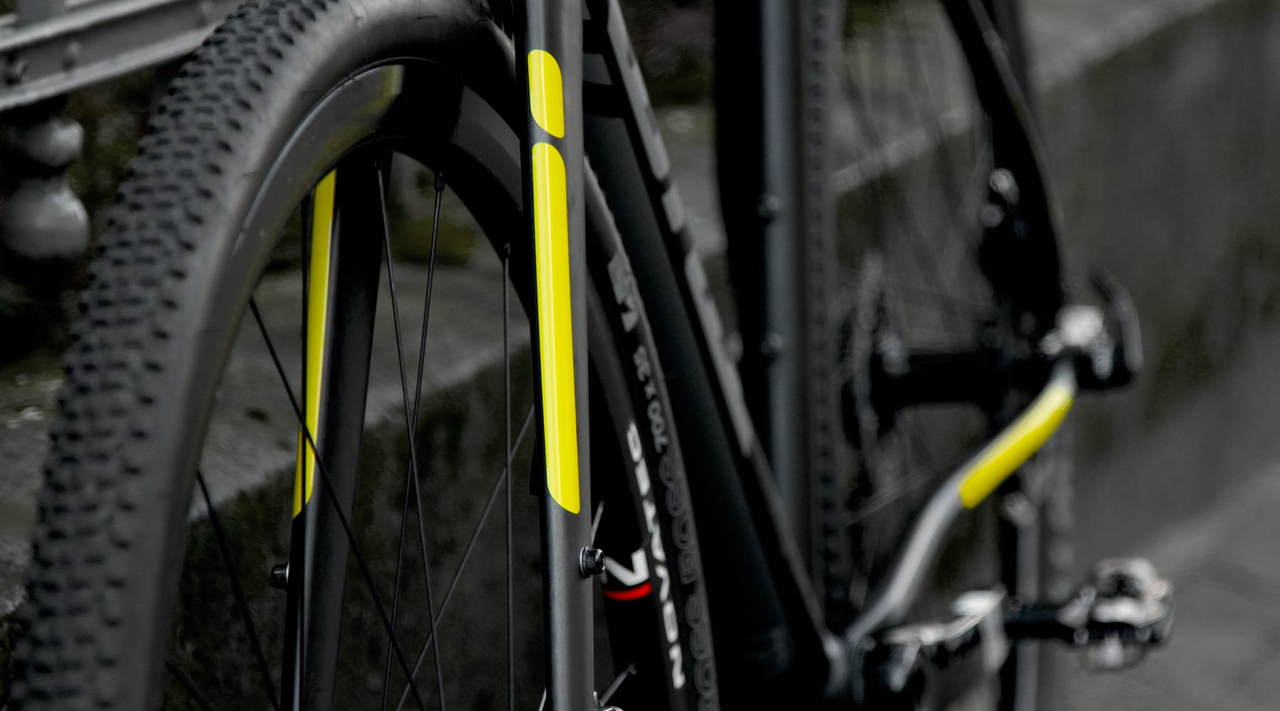 FLECTr reflective frame kit for cycles - from high viz yellow to stealth black