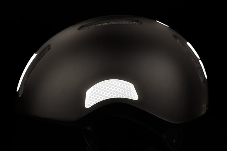 FLECTR reflective helmet kit for commuter helmets