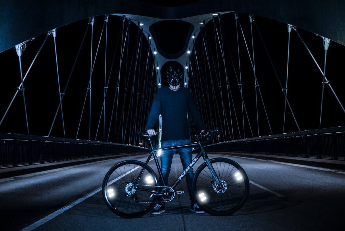 FLECTR ZERO – award-winning reflective bike decals
