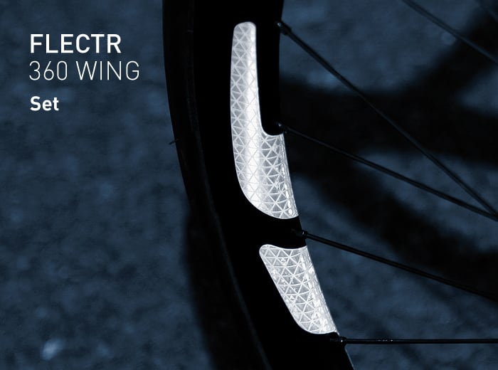 FLECTR 360 WING rim reflector set