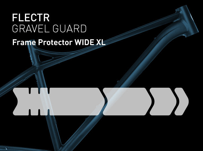 FLECTR Gravel Guard Wide XL frame protector