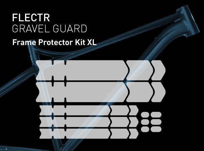 FLECTR GRAVEL GUARD Frame Protector Kit XL