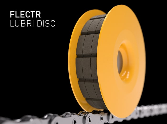 FLECTR LUBRI DISC is an incredible tool for the basic care of your bike chain
