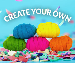 Create Your Own Mixed Merino Bag