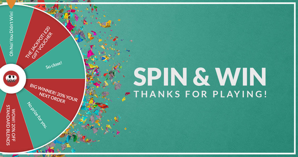 Thanks for Playing Spin and Win!