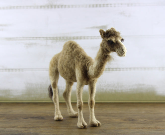 Cairo The Camel | Needle Felting Kit – World Of Wool Retail