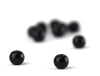 6mm Black Glass Eyes/Beads