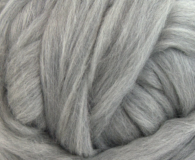 Natural Grey Merino Jumbo Yarn