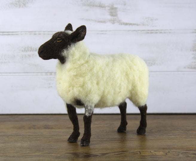 Sheldon The Sheep | Needle Felting Kit