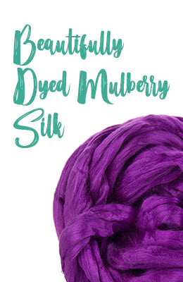 Dyed Mulberry Silk