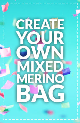 Create your own merino mixed bag