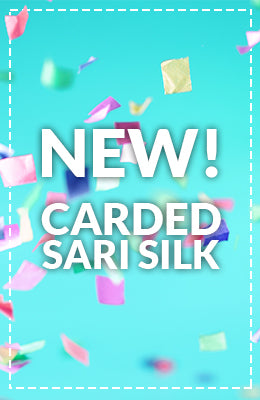 New Carded Sari Silk