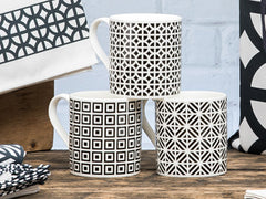 Architecture Mugs Set of 4
