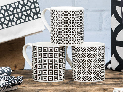 Architecture Mugs Set of 6