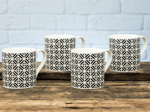 Cavendish Mug Set of 4