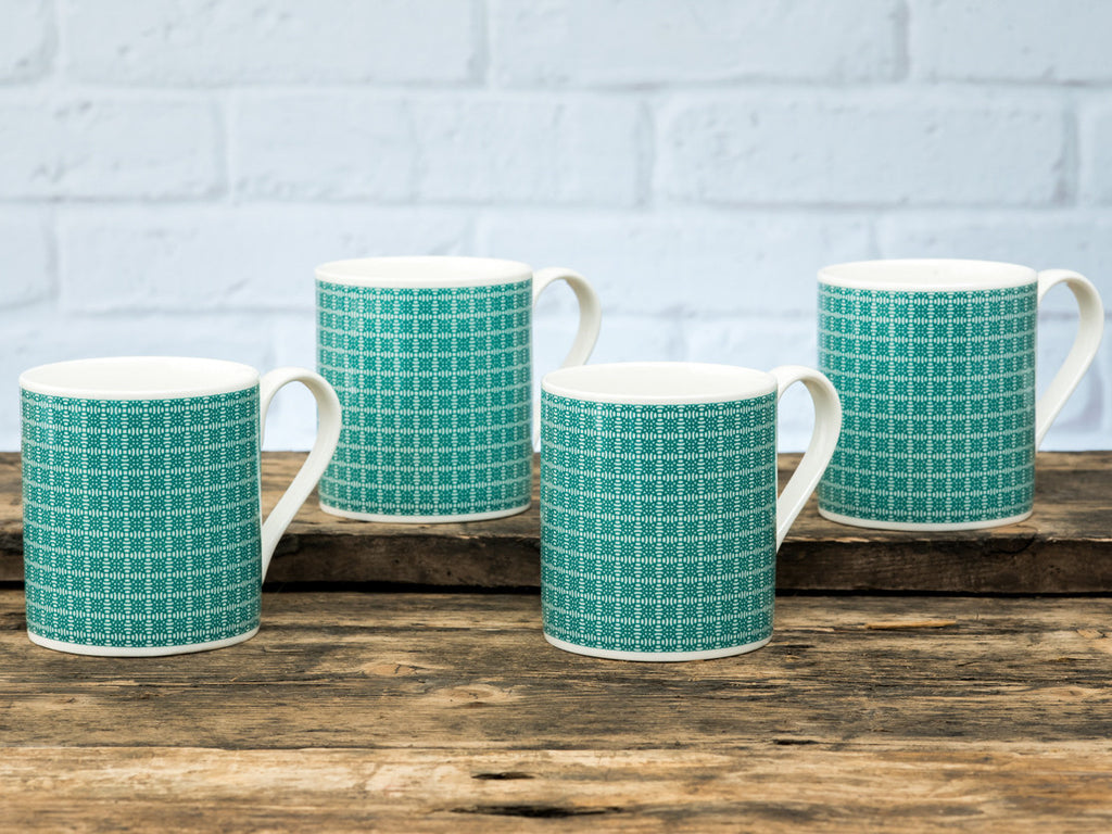 Percy Mugs Set of 4