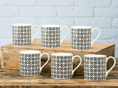 Cavendish Mug Set of 6