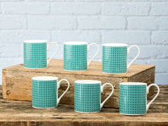 Percy Mugs Set of 6