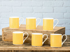 Seymour Mugs Set of 6