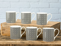 Neville Mug Set of 6