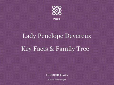 Family Tree Lady Penelope Devereux