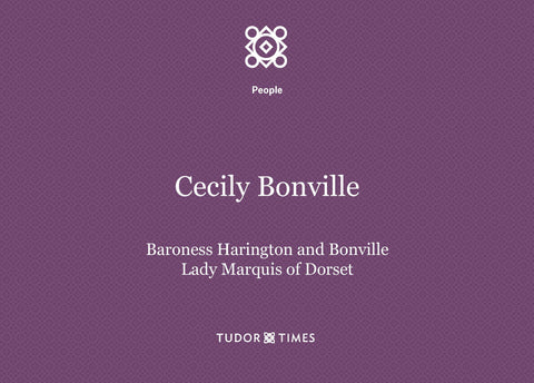 Cecily Bonville Family Tree