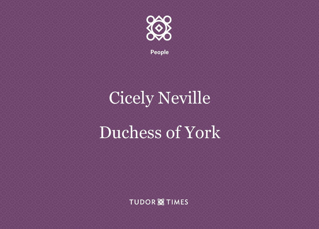 Cicely Neville, Duchess of York: Family Tree
