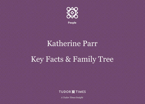 Family Tree Katherine Parr