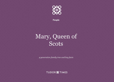 Family Tree Mary, Queen of Scots