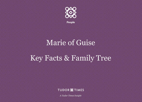 Family Tree Marie of Guise