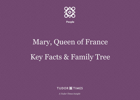 Family Tree Mary, Queen of France