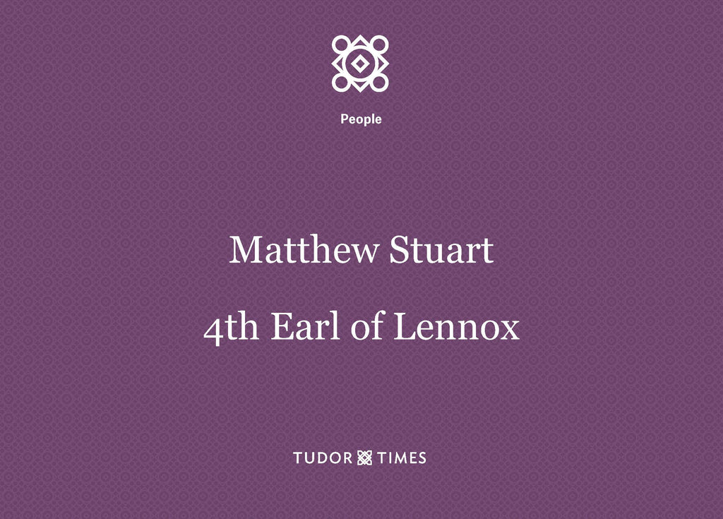 Matthew Stuart, 4th Earl of Lennox: Family Tree