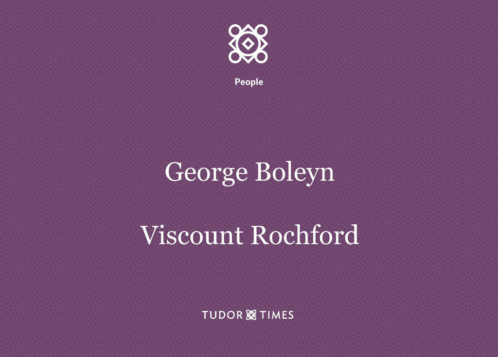 George Boleyn, Viscount Rochford: Family Tree