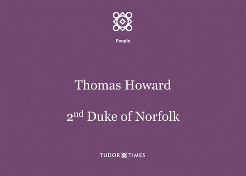 Thomas Howard, 2nd Duke of Norfolk: Family Tree