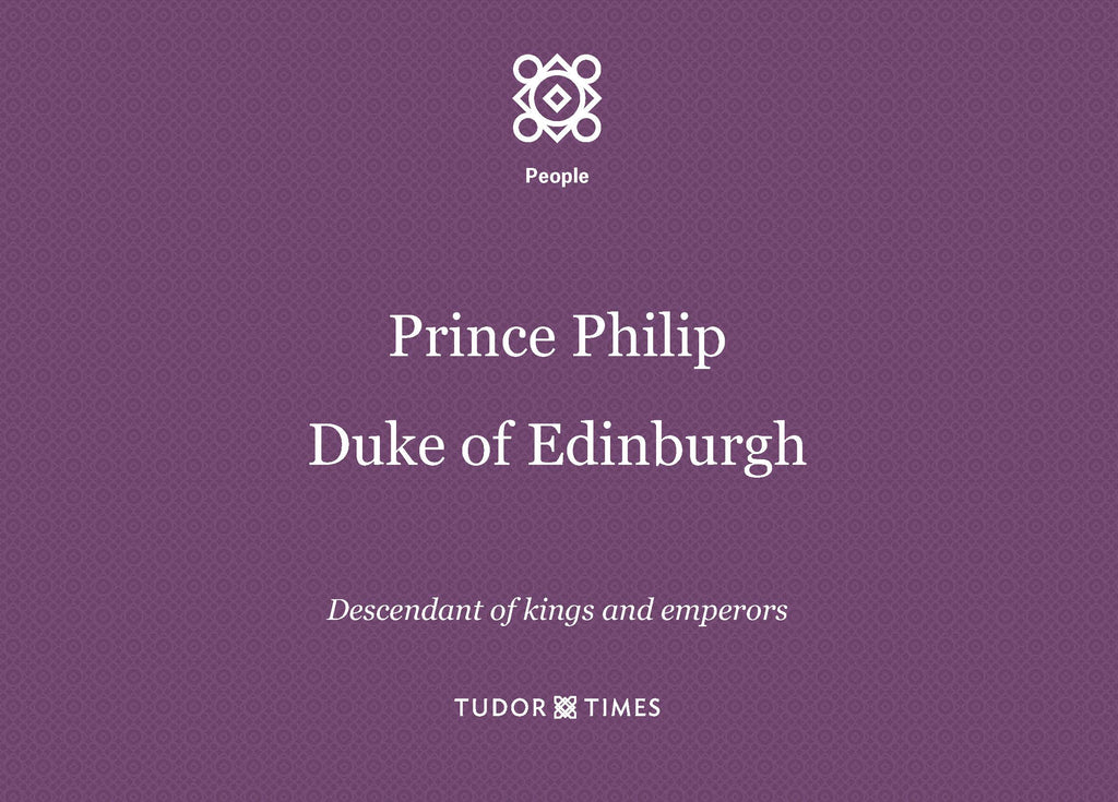 Descent of Prince Philip, Duke of Edinburgh
