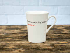 Elizabeth I Quote Mug (I am no morning woman)