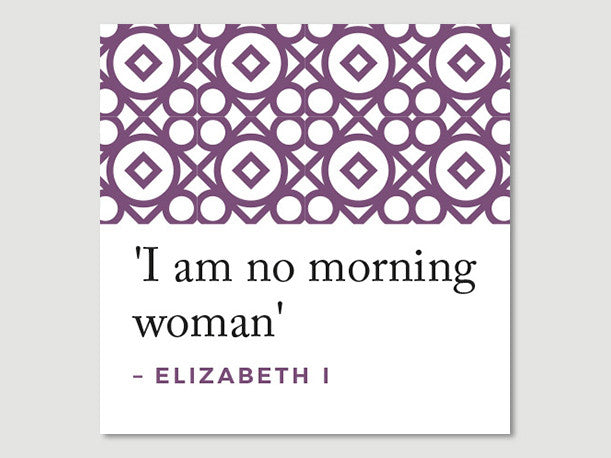 Elizabeth I Quotes Greeting Card (I am...)
