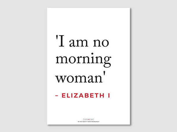 Elizabeth I Quotes Posters (I am...)