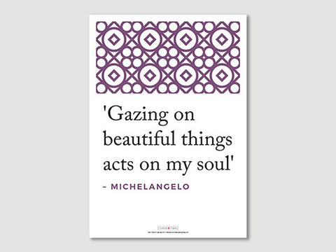 Quotes Posters (Michelangelo)