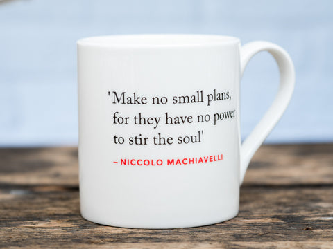 Renaissance Quote Mug (Machiavelli)