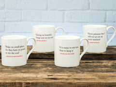 Renaissance Quote Mugs Set of 4