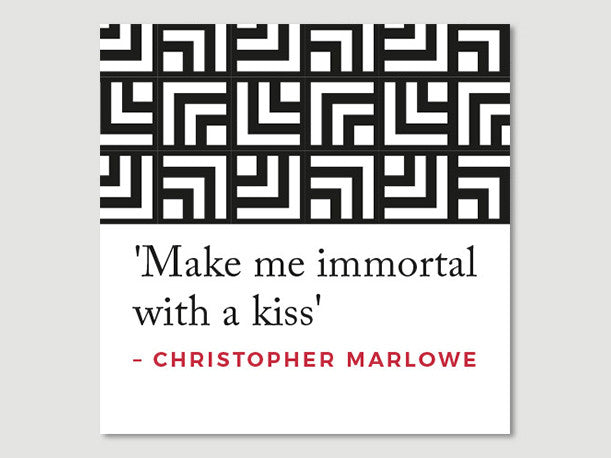 Quotes Greeting Card (Marlowe)