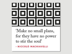 Quotes Greeting Cards (Pack of 5)